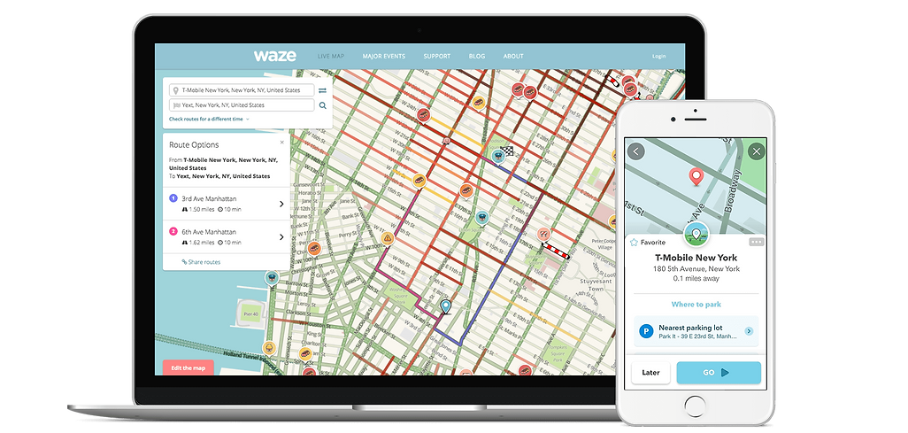 Annuaire référencement Waze - Page d'entreprise