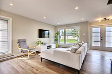 Modèle de maison à étage avec garage / Salon 2