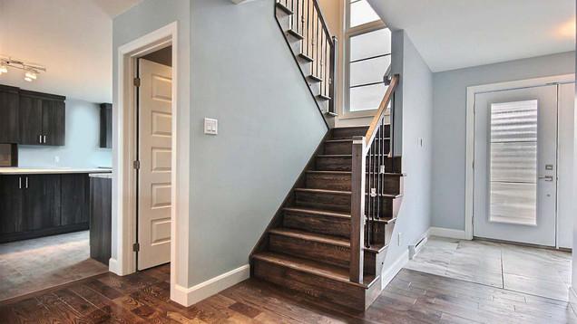 Plan de maison avec garage / Escalier 1