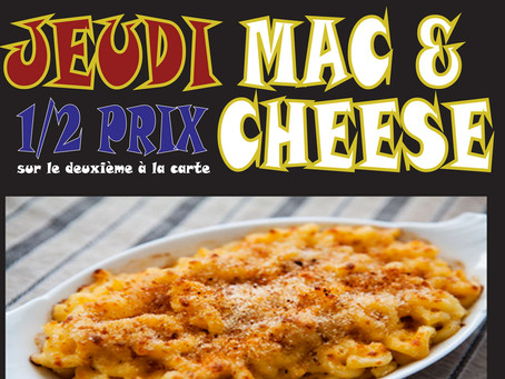 Jeudi - Mac & Cheese