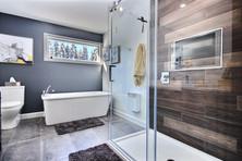 Construction d'une maison de plain-pied / Salle de bain 3