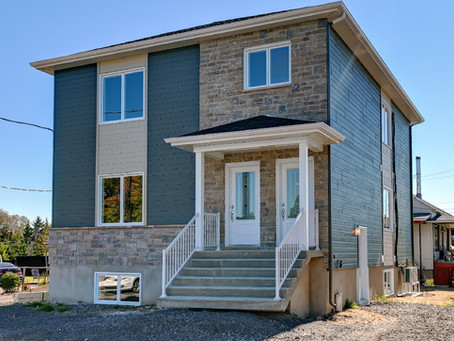 Immeuble à revenus par Midalto, entreprise construction maison à Québec