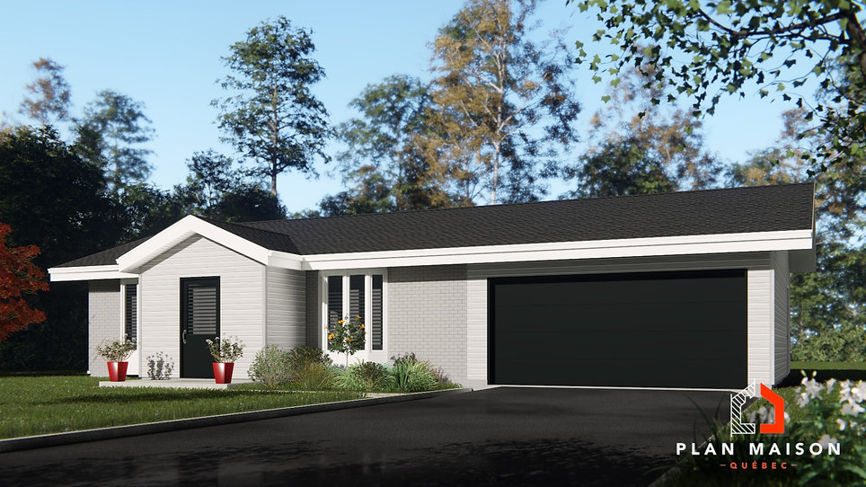 plan de maison avec garage brossard