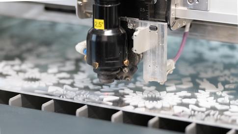 Découpe et gravure laser par Plastica à Québec