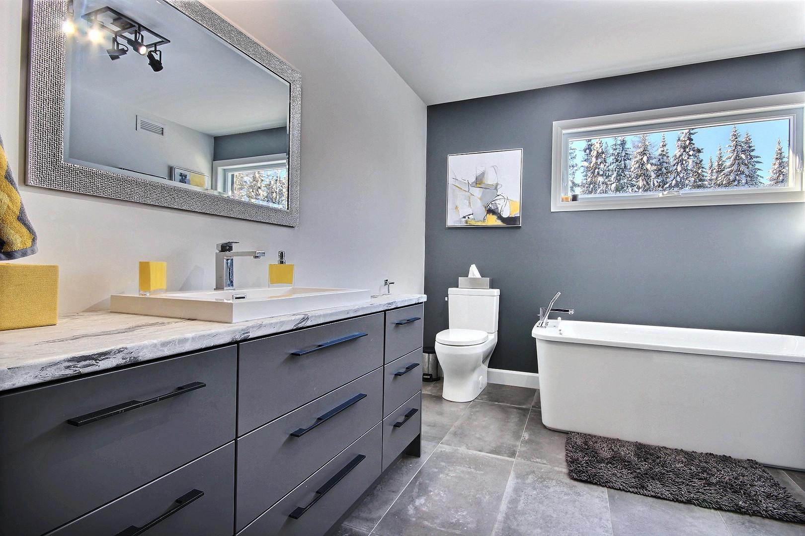 Construction d'une maison de plain-pied / Salle de bain 2