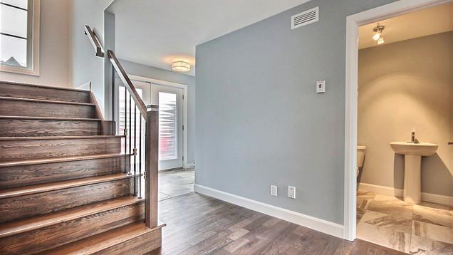 Plan de maison avec garage / Escalier 3
