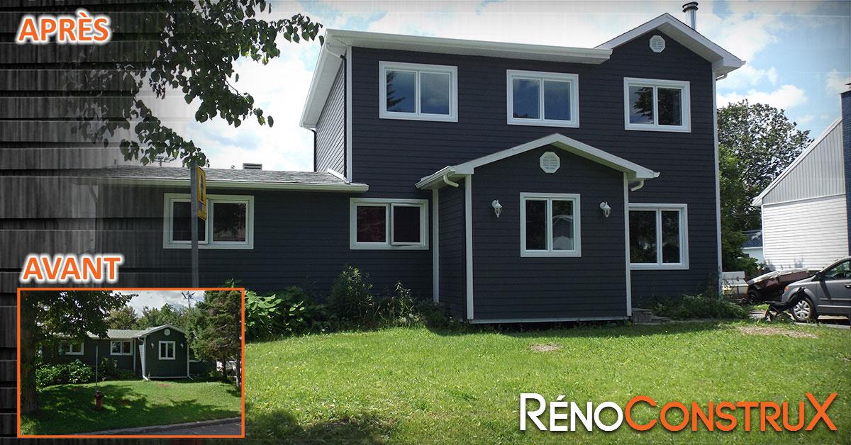 Ajouter un etage a sa maison une maison modulaire image for Ajouter un etage a une maison
