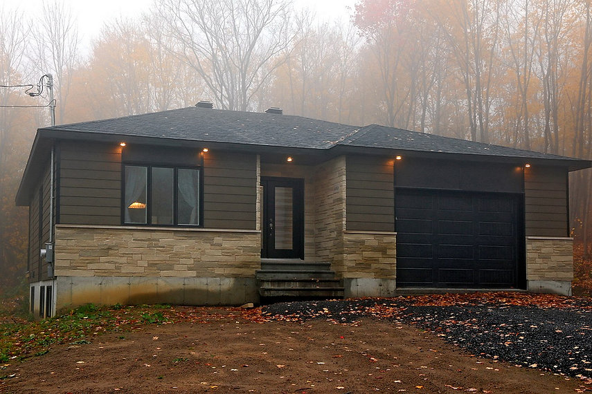 maison plain-pied avec garage