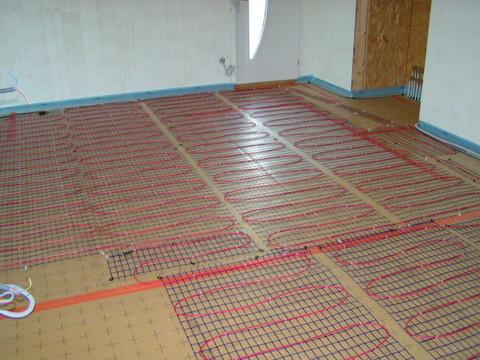 Économie d'énergie = plancher chauffant