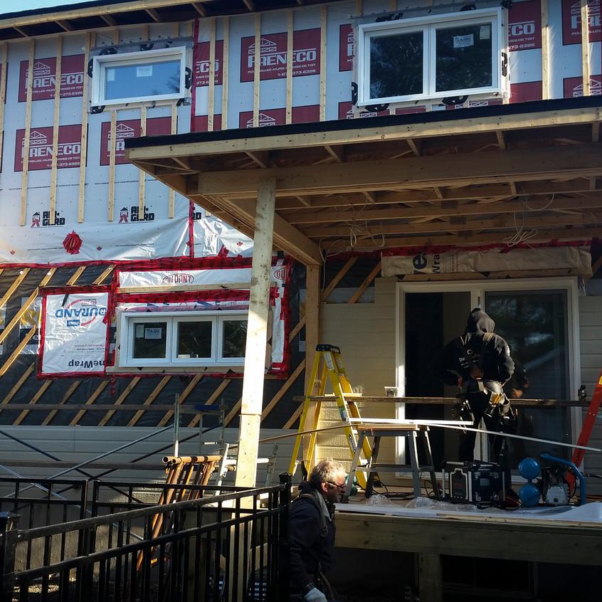 Rénovation Québec ajout étage