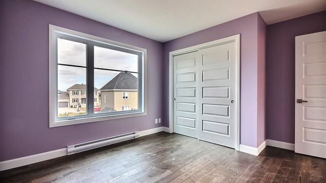 Plan de maison avec garage / Chambre 4