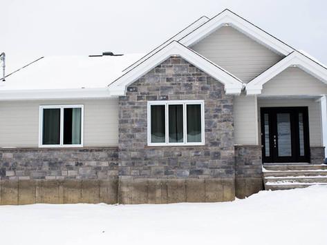 Projet de maison neuve par Midalto, entrepreneur général à Québec