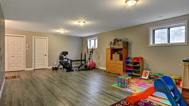 Maison plain-pied avec garage - Sous-sol 2