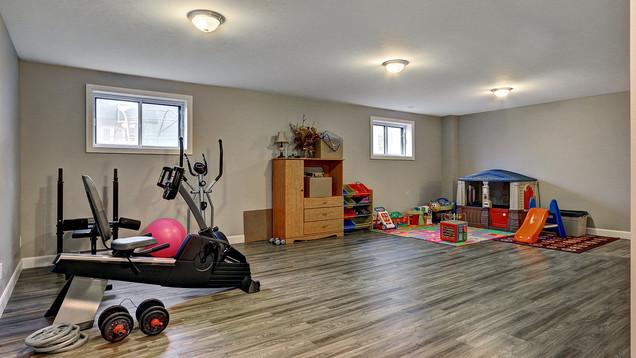 Maison plain-pied avec garage - Sous-sol 1