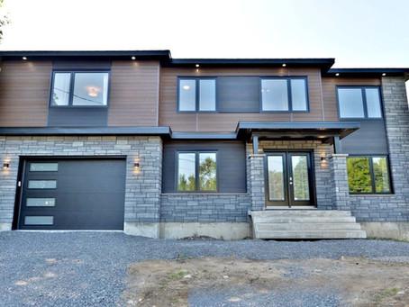 Projet de construction de maison par Midalto / Entrepreneur général à Québec
