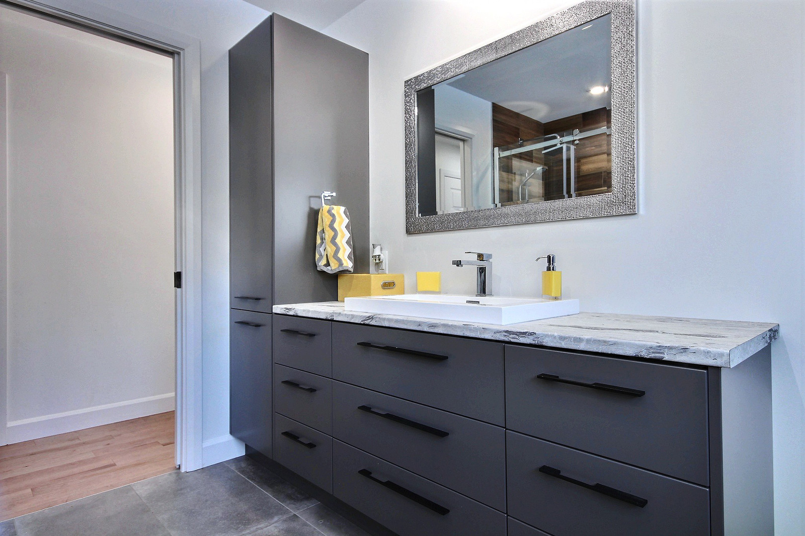 Construction d'une maison de plain-pied / Salle de bain 5