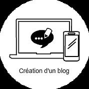 Création d'un site Web de type blogue ou blog