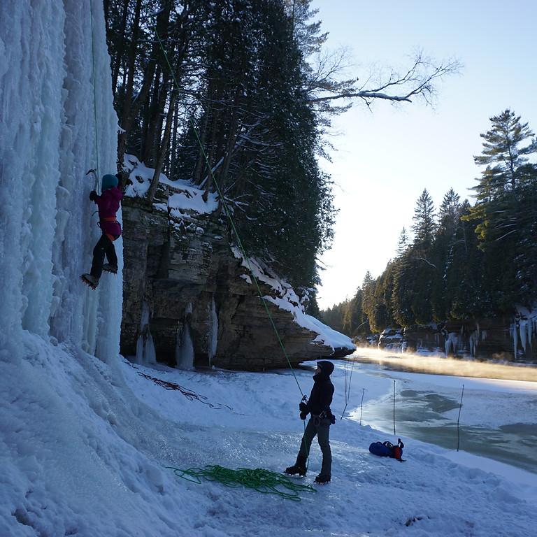 Découverte de l'escalade de glace