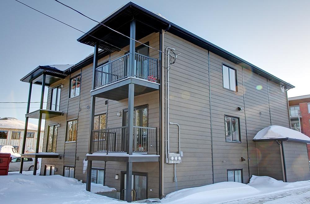 Construction d'immeuble à revenus par Midalto, contracteur en construction à Québec