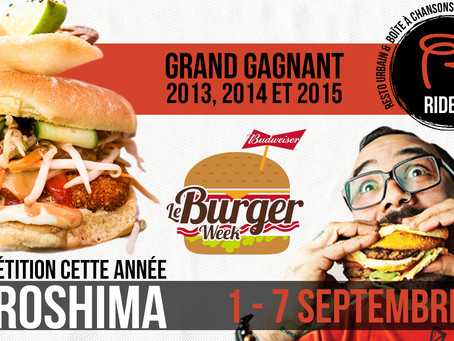 Burger week 2016