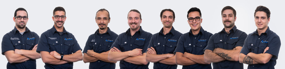Photographie de portrait d'équipe pour le développement du site Web de Assemblage Québec