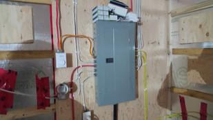 Installation de panneau électrique