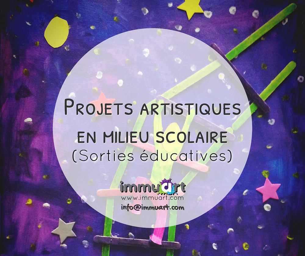 Projets artistiques - Cours d'art Immuart Québec