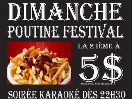 Dimanche - Poutine Festival
