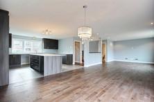 Plan de maison avec garage / Salon 1