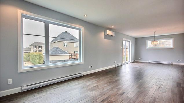 Plan de maison avec garage / Salon 4