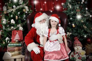 Le Père Noël à la clinique