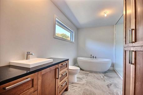 Maison sur mesure / Salle de bain 1