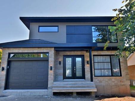 Construction de maison neuve par Midalto, entrepreneur général à Québec