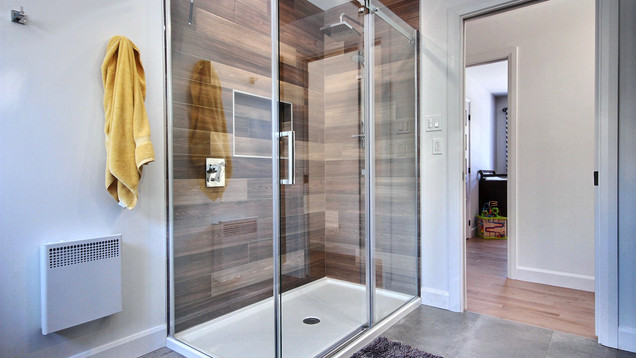Construction d'une maison de plain-pied / Salle de bain 1