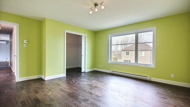 Plan de maison avec garage / Chambre 5