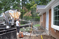 Mobile mixed concrete delivery company - service in South Shore MA
