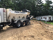 Metered cement delivery service in MA
