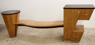 Cabinet table-bench