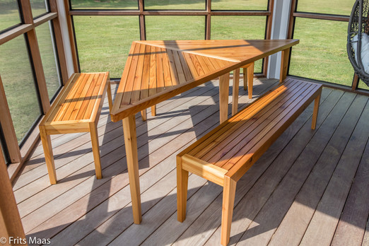 Porch tables & benches