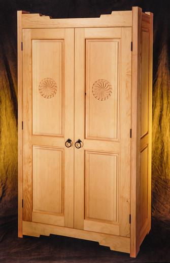 Southwestern armoire