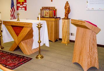 School altar set