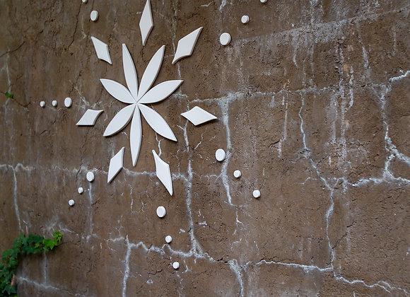 Stardust Mandala Wall Tile