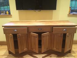 Custom Made Oak Dresser