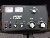 Ameritron Al-80B linear amp front panel.