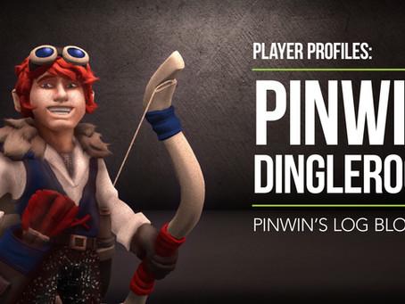 Pinwin's Log Blog #1: BehindPinwin Dingleroot