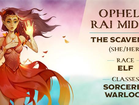 Ophelia Rai Midori | Meet the Characters | Into the Yonder Void