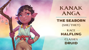 Kanak Anga | Meet the Characters | Into the Yonder Void