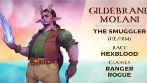 Gildebrand Molani | Meet the Characters | Into the Yonder Void