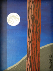 REDWOOD AND MOON