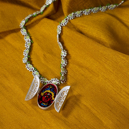 परिवर्तन II // Parivarthan II // Transform II - Small Locket Necklace